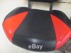 11 Polaris Rzr 4 800 Seats Pair Black Red Base Back Frame Stock Oem 1-3739