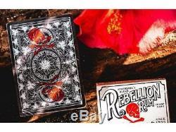 12 Ellusionist Salt & Bone Kartenspielen Deck B9 Stock Black Red Tuck Case Neu