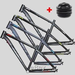 16/17 Straight Hedadtube MTB Bike Frame 26er Aluminum alloy Frameset US Stock