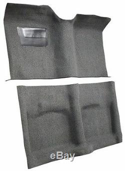 1959 Dodge Coronet Carpet Kit Molded 80/20 Loops Floor Mat Heal pad Black Red 59