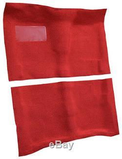 1964-67 Chevelle Carpet Kit 80/20 Loop Molded Floor Area Black Red Blue Green