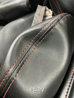 1989-1992 Corvette Seats Cover C4 Black Standard