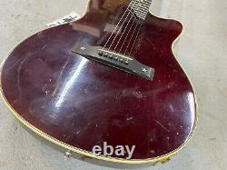 1993 Gibson USA Chet Atkins Electric Guitar Wine Red Repaired