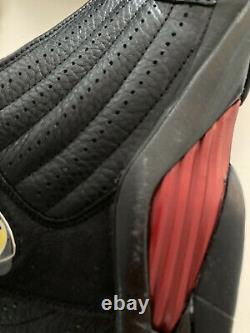 1999 ORIGINAL Nike Air Jordan 14 LAST SHOT PLAYOFF BLACK RED Sz 10.5