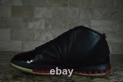2008 Nike Air Jordan 16 Retro CDP Black Red Countdown Pack Size 10.5 322723-061