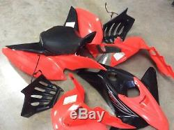 2012 400ex 400 Ex Red Under Black Fender Fenders Set Stock Oem 99-14