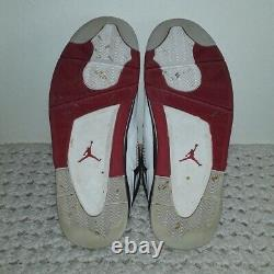 2012 Mens Size 11 Nike Air Jordan Retro 4 IV Fire Red 308497-110 red blk white
