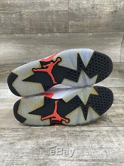 2014 Nike Air Jordan VI 6 Retro White Infrared Pink Black Red Og 384664-123 11