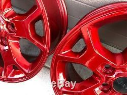 2019 17 Jeep Wrangler Rubicon Jl Black Red Sahara Oem Factory Stock Wheels Rims