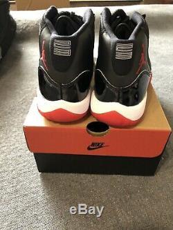 2019 Air Jordan Retro 11 Playoffs Bred Black Red GS Size 5.5Y Dead Stock aj xi