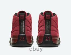 2020 Nike Air Jordan 12 Retro XII Reverse Flu Game Red/Black CT8013-602
