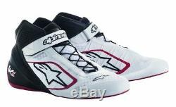 ALPINESTARS kart shoes TECH-1 KZ WHITE BLACK RED achilles heel support STOCK
