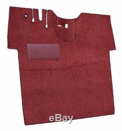 Acc 1955-1959 Chevy Gmc Truck Floor Carpet Kit 80/20 Loop Pick Color Black Red