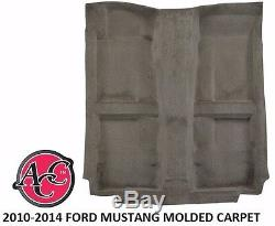Acc 2010-14 Ford Mustang Molded Carpet Kit Pick Color Black Red Blue Boss Shelby