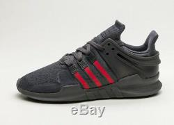 Adidas EQT Support ADV Black Red Green Mens Torsion Trainers Shoes 6 7 8 9 10
