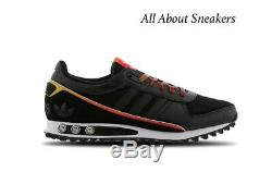 Adidas LA Trainer II Black-Red Men's Trainers All Sizes Limited Stock