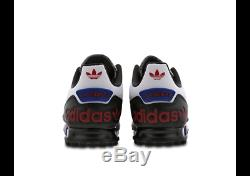 Adidas LA Trainer II White-Black-Red Mens Trainers Sizes 7 7.5 8 Limited Stock
