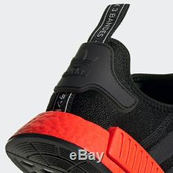 Adidas Nmd R1 Black Red Men Running Shoes 100 Authentic Ee5107