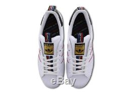 Adidas Superstar White-Black-Red Men's Trainers All Sizes Limited Stock