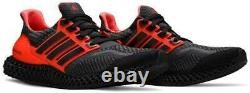 Adidas Ultra 4D 5.0 Running Shoes Solar Red Black G58159 Men's NEW