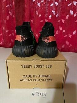 Adidas Yeezy Boost 350 V2 Core Black Red Size 9.5 (Brand New) (Stock X)