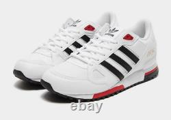 Adidas ZX 750 Mens Trainers White Black Red Gold Limited Edition Shoes All Sizes