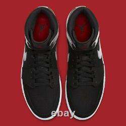 Air Jordan 1 Mid Johnny Kilroy 554724 057 Mens Size 10 NEW Black/Gym Red-Silver