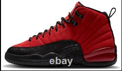 Air Jordan 12 Reverse Flu Game Retro GS Varsity Red Black 153265-602