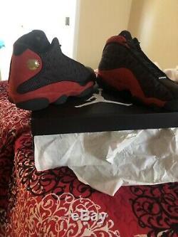 Air Jordan 13 Retro Bred Size 11 Black/Red Dead Stock