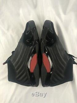 Air Jordan 14 14s XIV Retro Last Shot Black Red YOUTH Size 7Y 7 487524-003