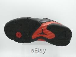 Air Jordan 14 XIV Retro Last Shot Black Red 311832-010 2011 SZ 9