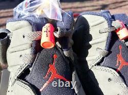 Air Jordan 6 Retro Sp Travis Scott Size 8.5 100% Authentic Cn1084 200 Olive