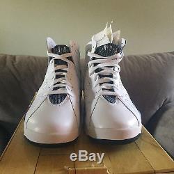 Air Jordan 7 2009 Dmp Dead Stock Size 11 Package Of 2 Pair Blk-purp-red/wht-blue