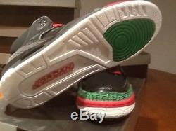 Air jordan spizike black red and green size 11.5 dead stock