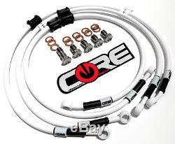 Aprilia Sxv450 Sxv550 Supermoto 06-11 Front Rear Custom Brake Line Kit Coremoto
