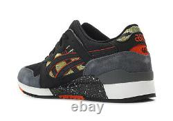 Asics Gel Lyte 3 III Tiger Camo (Black/Red) (H7Y0L-9090) Classic Running Mens 8