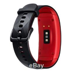 Au Stock Samsung Gear Fit 2 Pro (SM-R365N, Large) Red/Black
