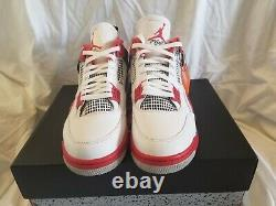 Authentic Nike Air Jordan 4 Retro Fire Red 2020 Size 13 Brand New Deadstock