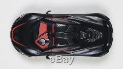 Autoart 2013 MCLAREN P1 MATT BLACK With RED ACCENTS COMPOSITE 1/18 Scale In Stock