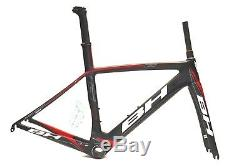 BH G6 Aero Carbon Road Frame & Fork XS / 52 cm Black / Red New Old Stock