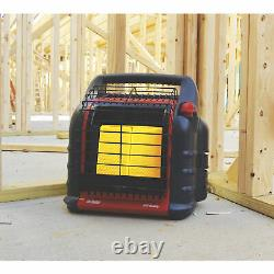 Big Buddy Indoor/Outdoor Portable Propane Gas Heater Camping Patio Deck Home