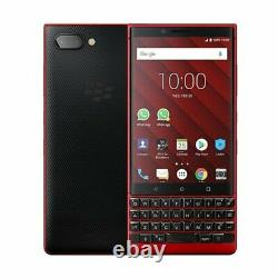 BlackBerry Key2 BBF100-2 64GB Red 6GB 12MP QWERTY Unlocked AU Stock