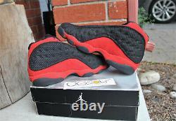 Brand new 2004 Air Jordan 13 Retro BRED Black Red sz 11 US 309259-061 nike XIII