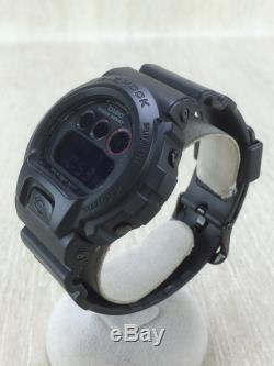 CASIO G-SHOCK STANDARD MAT BLACK RED EYE DW-6900MS-1JF #236D VERYGOOD Wristwatch