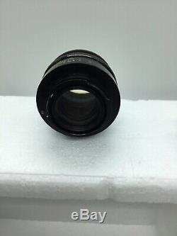 Carl Zeiss Jena 58mm f2 Biotar BLACK Red T 58/2 lens-17 Blade Exakta