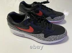 DS Nike Air Max 1 Golf Shoes Safari Size 11 BQ4804-002 Jordan Tiger Bethpage DS