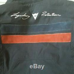 Dainese Air Frame D1 Tex Jacket Suade Black Red Model 2735146- Size 40 Legendar