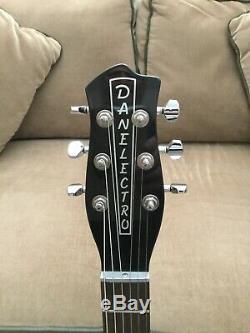 Danelectro Longhorn 90s Red/Black Guitar Lipstick Pickups