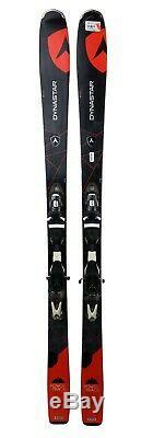 Dynastar Powertrack 84 Skis 162 cm with SPX12 Bindings Black/Red USED STANDARD
