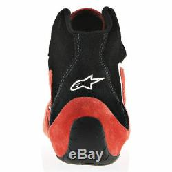 FIA ALPINESTARS racing shoes SP FIA rally racing suede black red blue STOCK